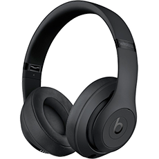 Beats Studio 3 Wireless Over-Ear Headphones - Matt Black