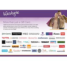 Lifestyle Voucher £10
