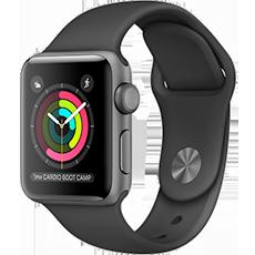 Apple Watch Series 3 38mm Space Grey/Black