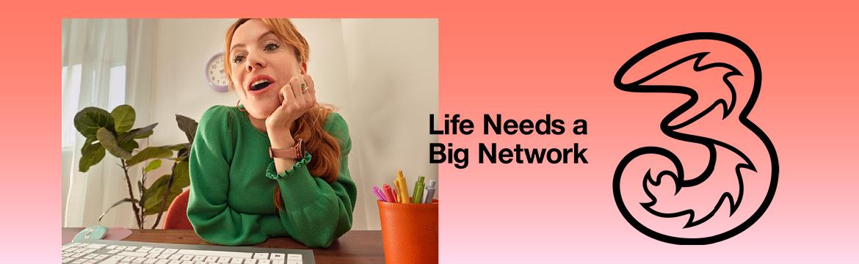 Life needs a big network